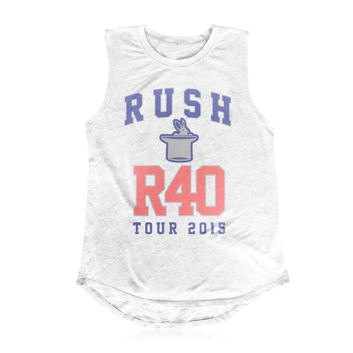 Rush Ladies Sleeveless R40 T-shirt