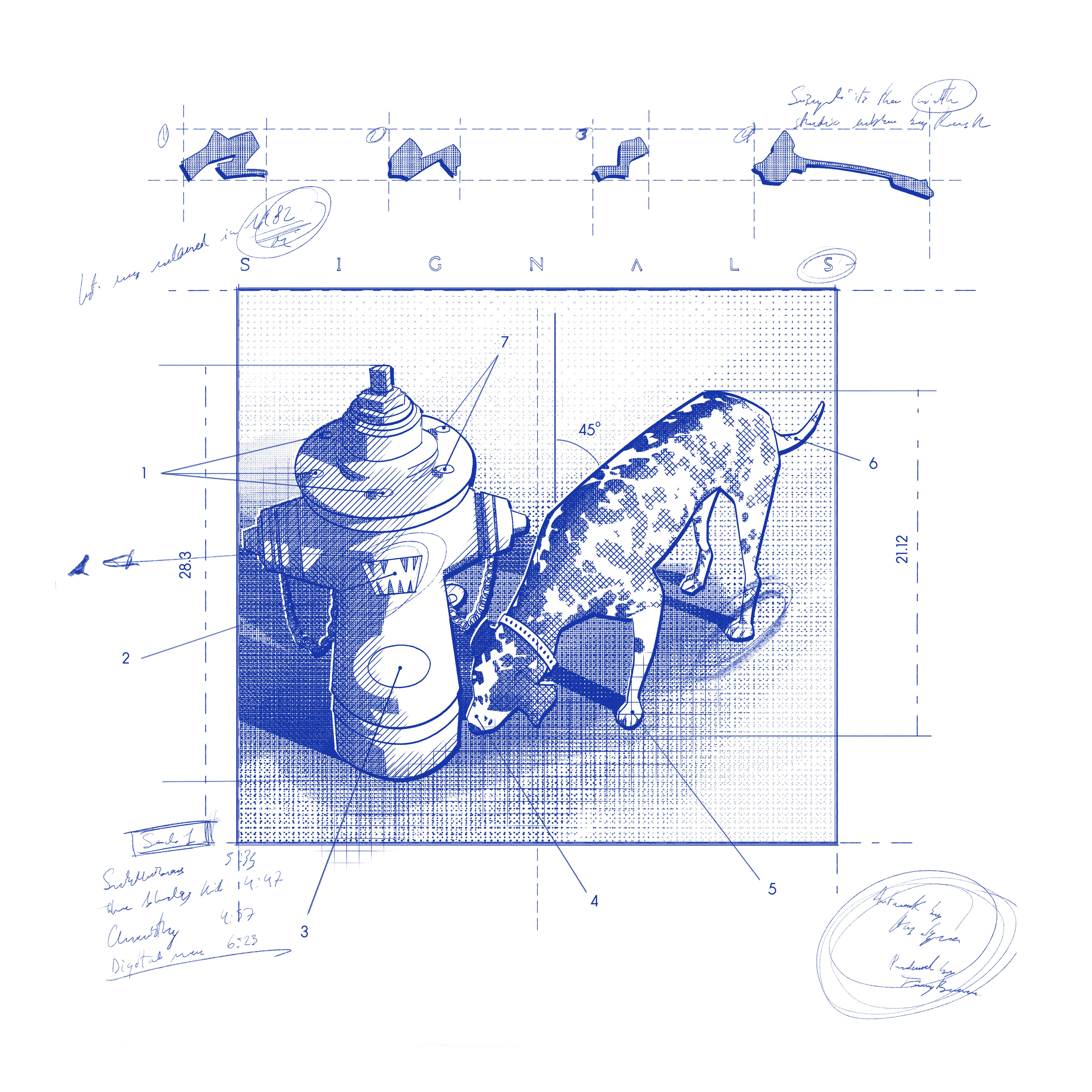 Signals Blueprint Longsleeve