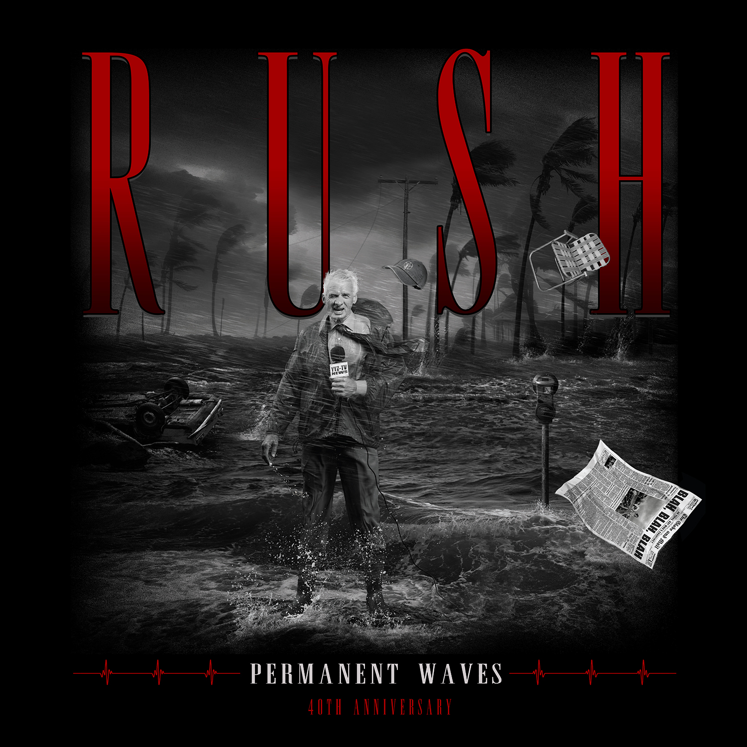 Permanent Waves 40th Anniversary Tee