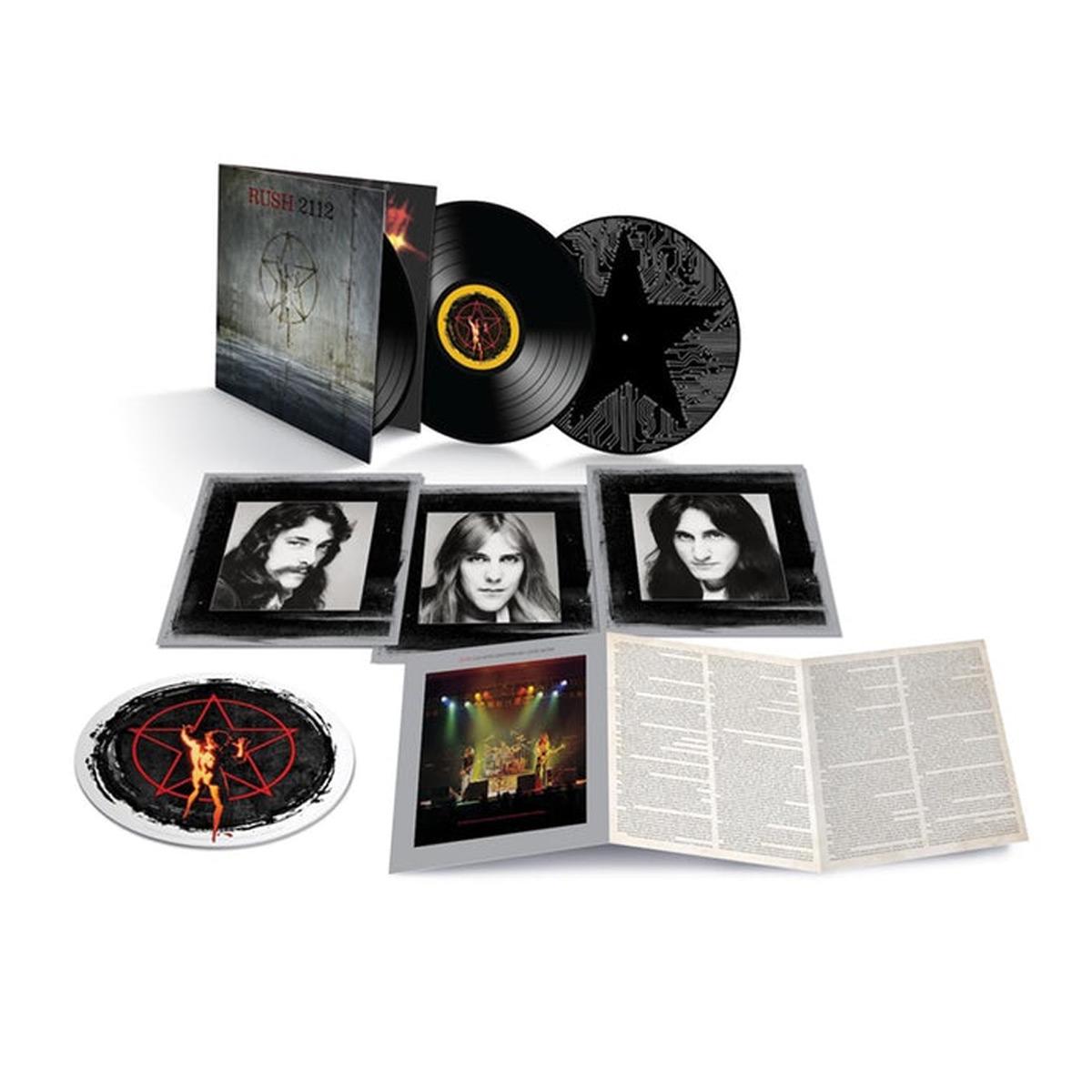 Rush 2112 40th Anniversary 3LP Vinyl
