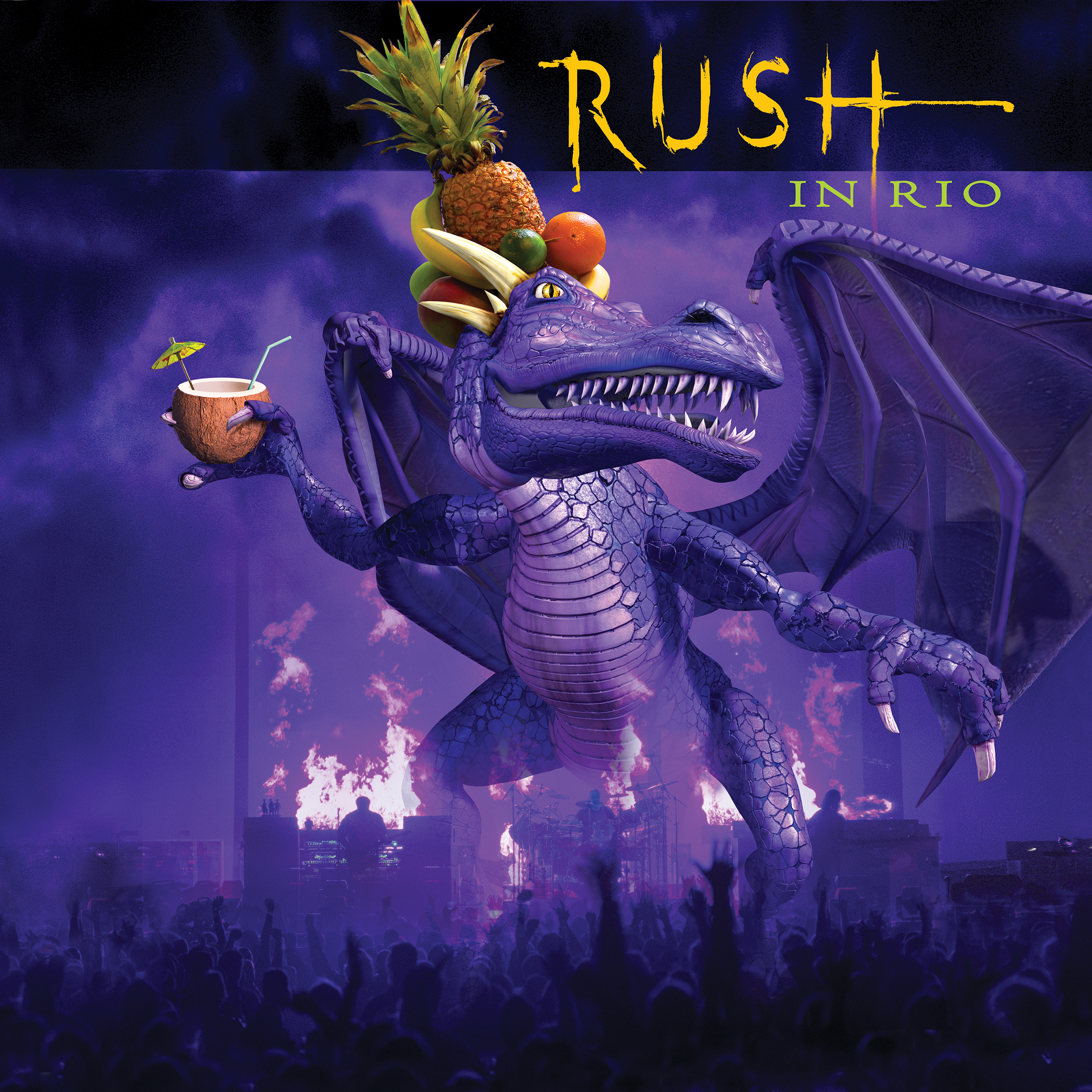 Rush in Rio 4 Vinyl Set
