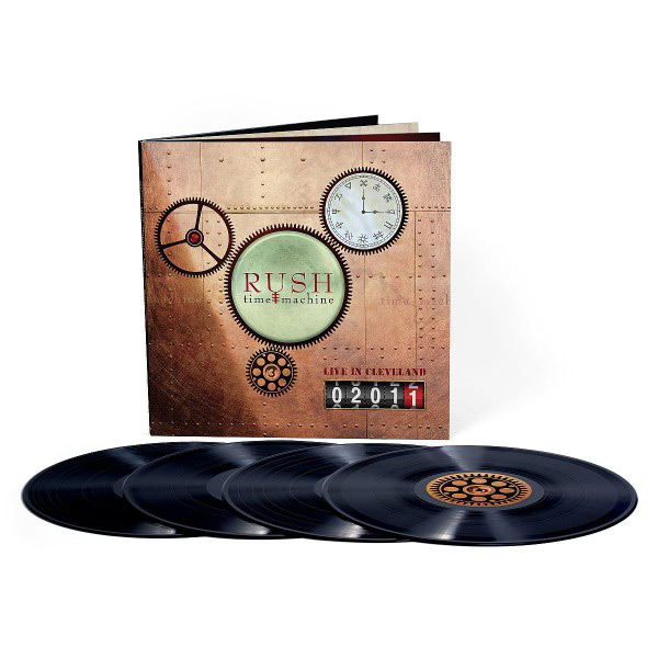 Rush - Time Machine 2011: Live in Cleveland (4LP)