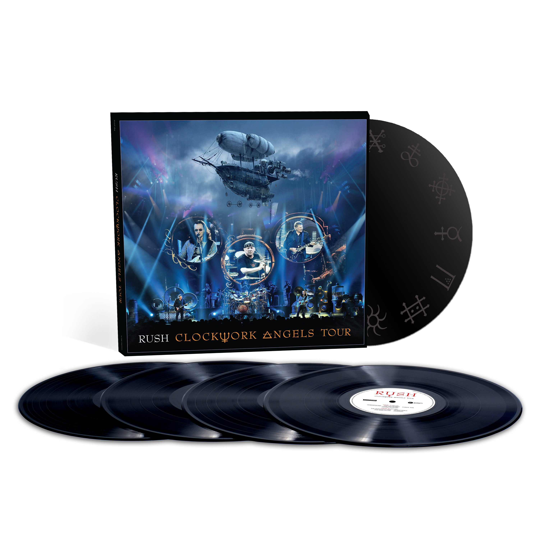 RUSH: Clockwork Angels Tour - 5LP Vinyl Set