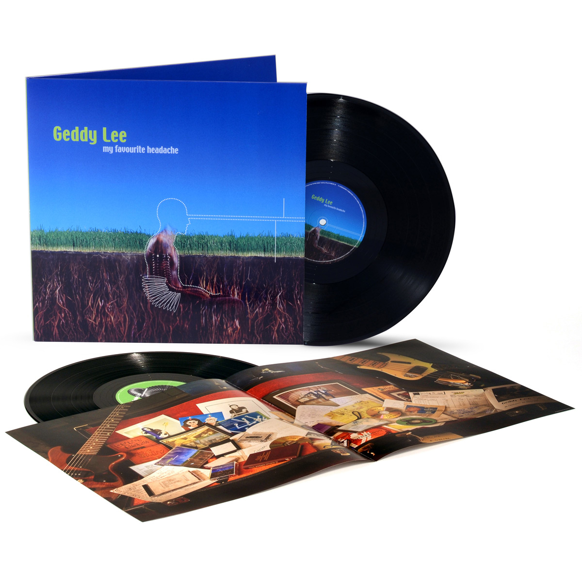 Geddy Lee - My Favourite Headache 2LP Vinyl