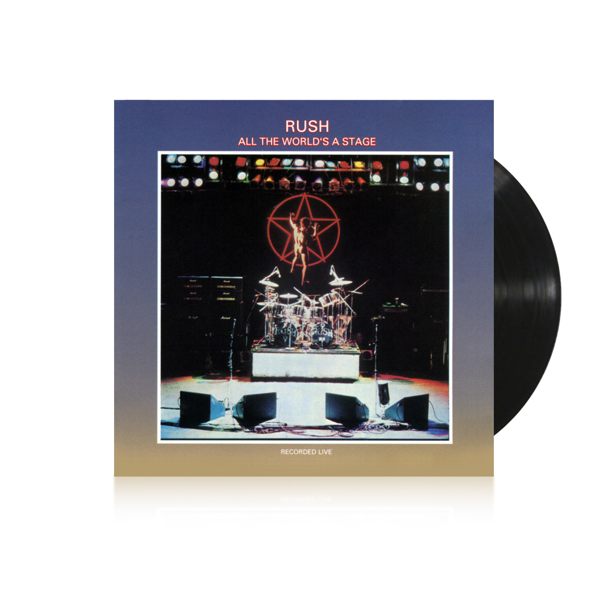 Vinyl - Rush All The World's A Stage