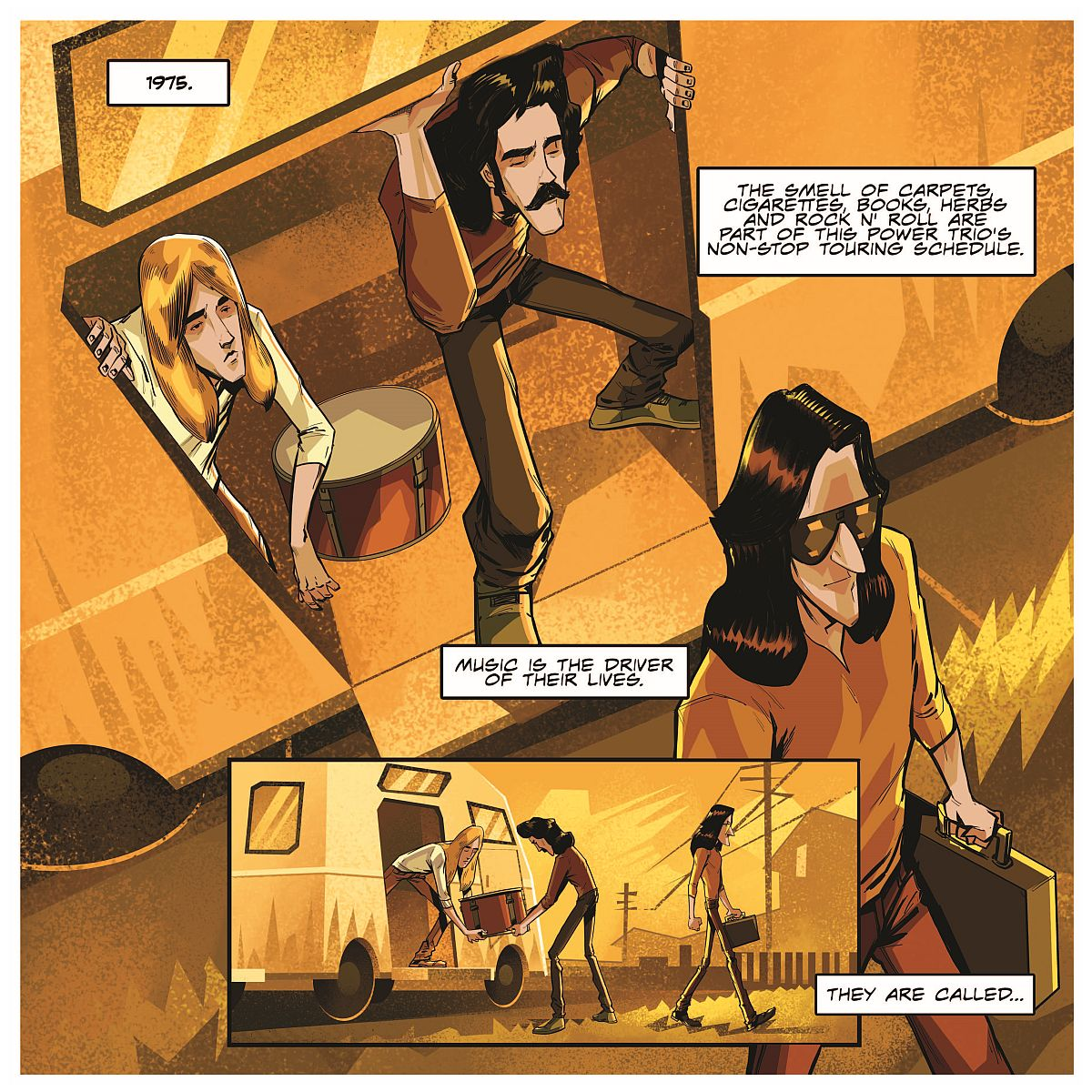 Rush: The Making of a Farewell to Kings: The Graphic Novel With A Farewell to Kings Tourbook
