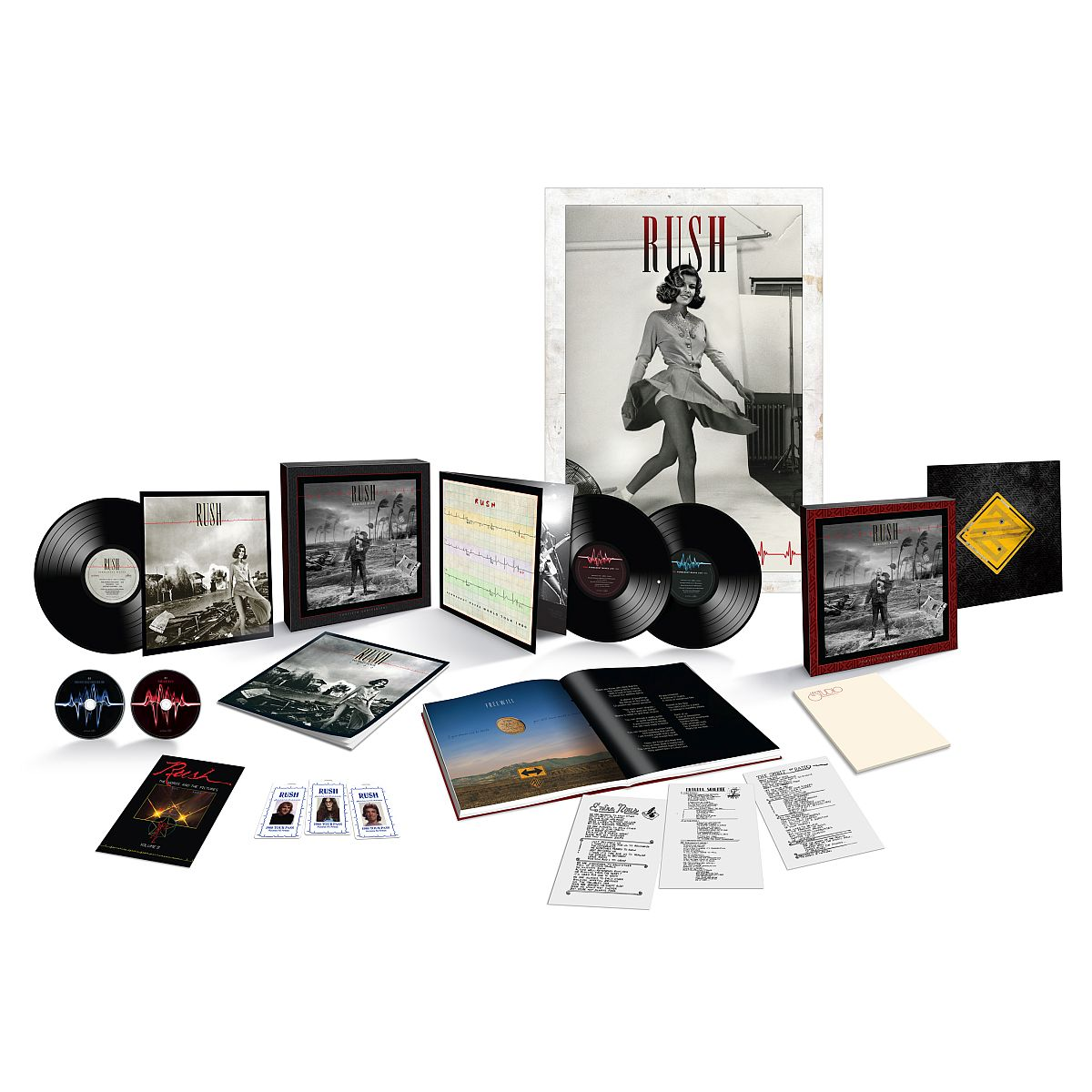 Permanent Waves 40th Anniversary Super Deluxe Box Set + Permanent Waves 40th Anniversary Hoody