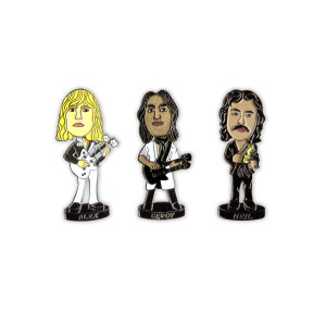 Rush Bobblehead Pins