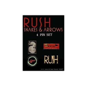 Pin Set - Snakes & Arrows