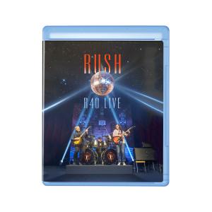 Rush R40 LIve Deluxe DVD + 3 CD Set