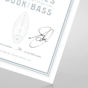 Luxe Limited Edition - Geddy Lee's Big Beautiful Book of Bass - Autographed