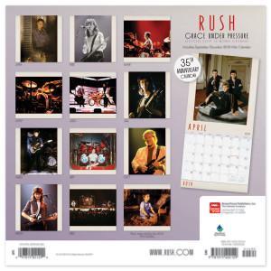 Rush 2019 Calendar