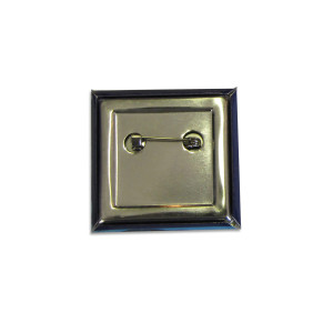 Caress Of Steel Square Button