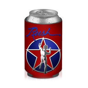 Red Starman Koozie