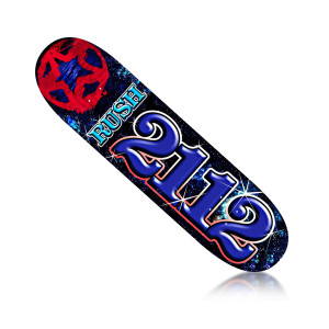 Rush 2112 Skate Deck
