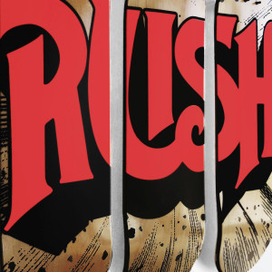 Rush Dayglow Explosion Triptych Skate Decks