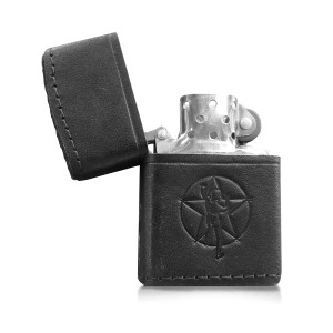 Rush Leather Wrapped Lighter