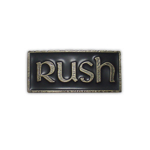 1977 Rush Belt Buckle