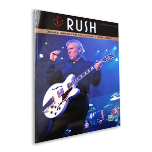 RUSH Deluxe Guitar Tab Collection
