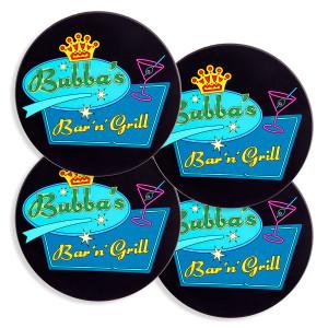 Bubba's Drink Coasters
