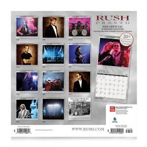 Rush 2020 Calendar