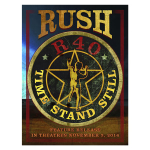 Rush Time Stand Still Special Edition Litho