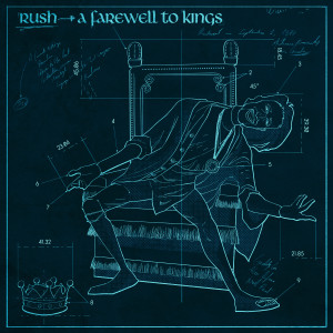Rush A Farewell to Kings Blackprint