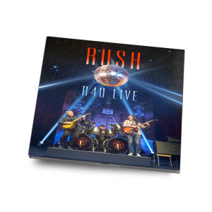 CD - Rush R40 Live