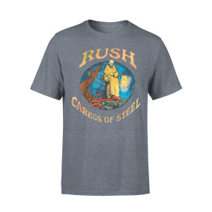 Rush Caress of Steel Charcoal Tee