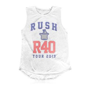 Rush Ladies Sleeveless R40 T-shirt