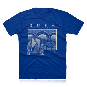 Moving Pictures Blueprint Tee