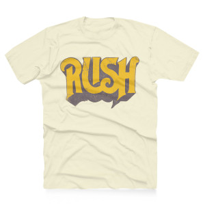 Rush Original Yellow Logo Tee