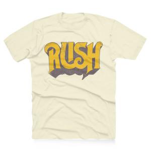 Rush Original Yellow Logo Tee