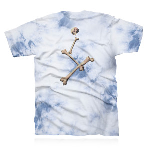 Roll the Bones Tie Dye Tee