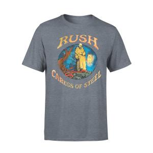 Rush Caress of Steel Charcoal Tee
