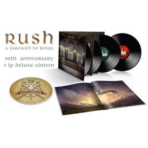 A Farewell to Kings 40th Anniversary 4LP