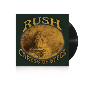 Vinyl- Rush Caress of Steel