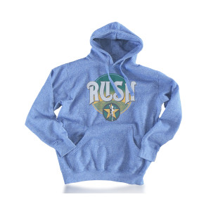 Rush Casual Guy Blue Hoody
