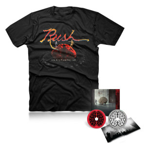 2CD Edition and Hemispheres 40th Tee Bundle