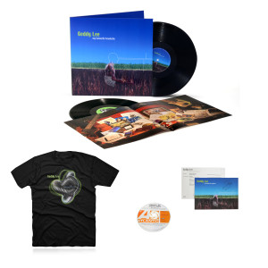 Geddy Lee - My Favourite Headache 2LP Vinyl + Geddy LeePerfekt Knot Tee + Promo CD from the Archives + Autographed MFH Postcard