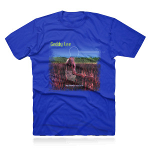 Geddy Lee - My Favourite Headache 2LP Vinyl + Geddy Lee Favorite Blue Tee