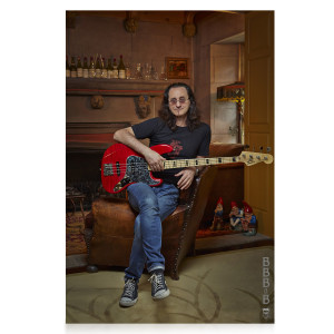 Luxe Limited Edition - Geddy Lee's Big Beautiful Book of Bass - Autographed +Geddy Lee BBB of B Poster
