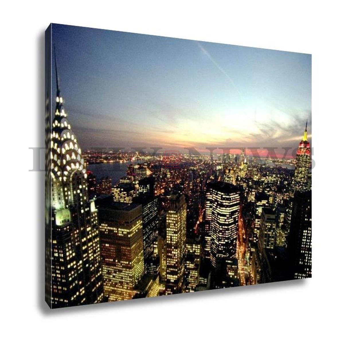 Manhattan Skyline at Dusk