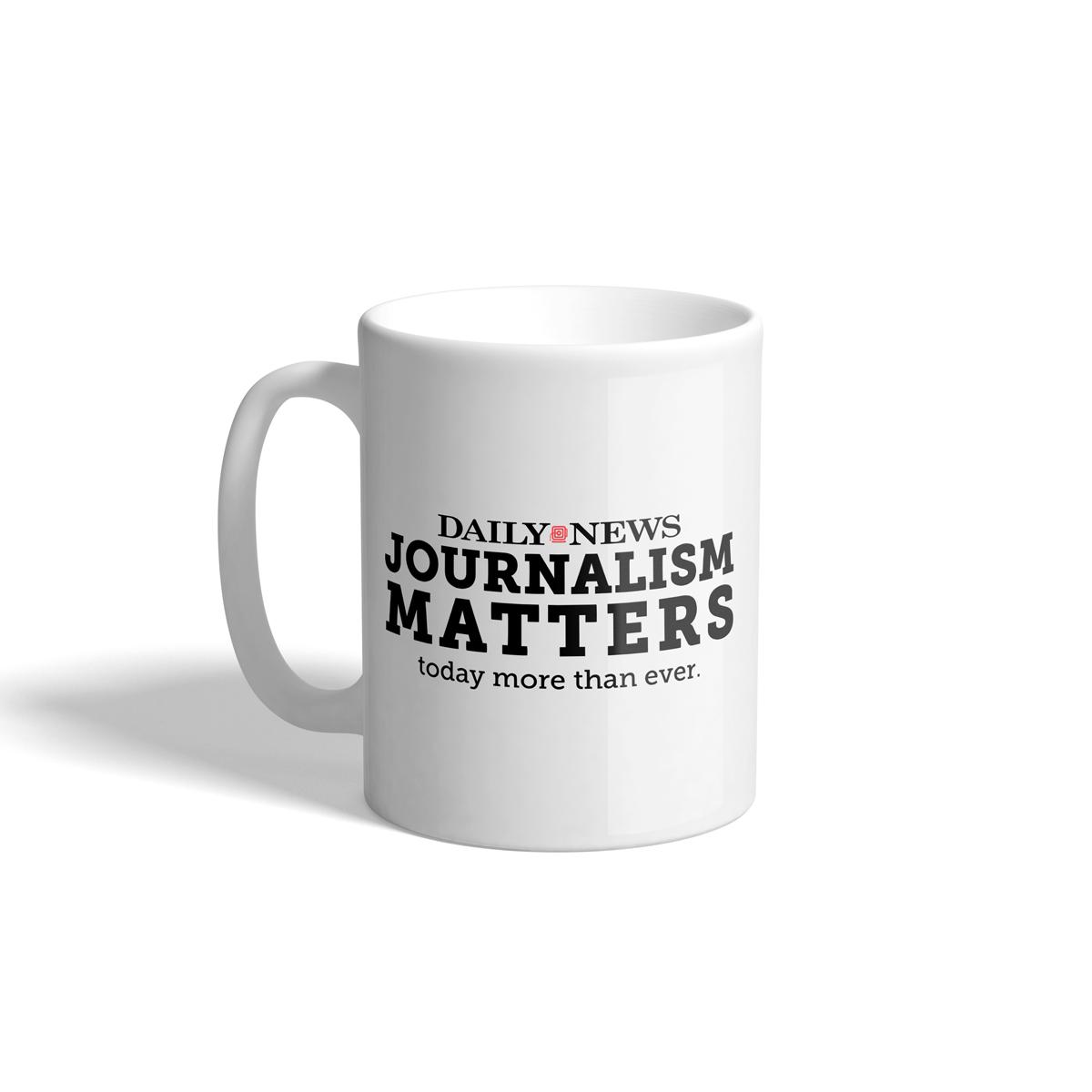 Daily News Journalism Matters Mug