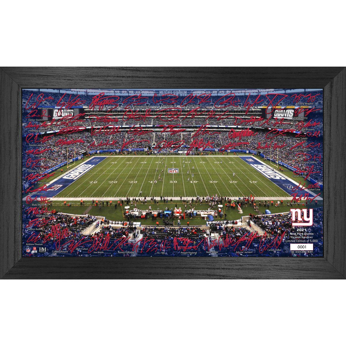 New York Giants 2021 Signature Gridiron Collection