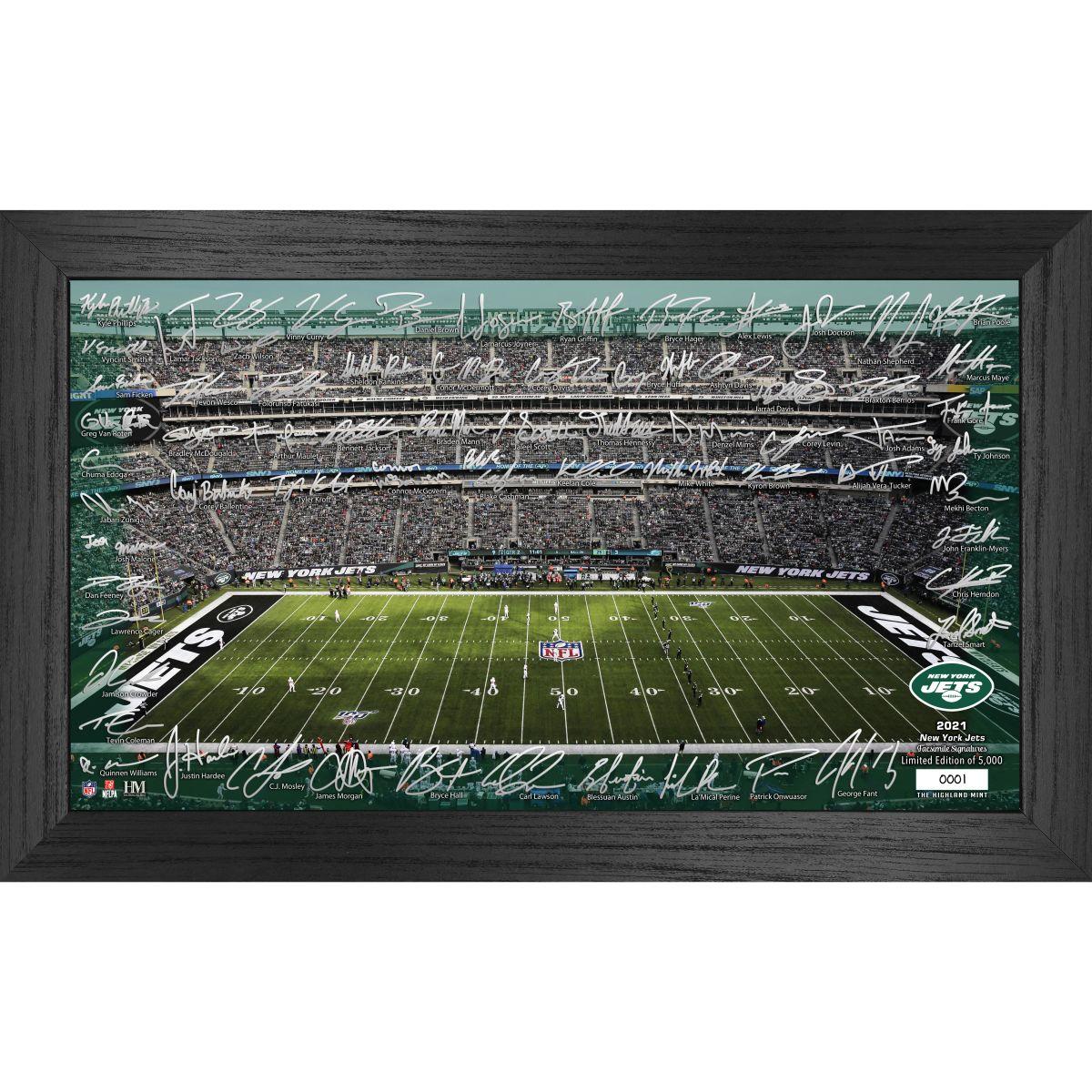 New York Jets 2021 Signature Gridiron Collection