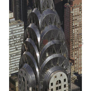 Chrysler Building Aerial View