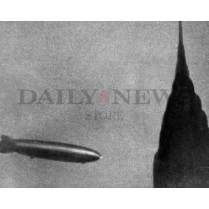 The Hindenburg over Manhattan