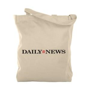 NY Daily News Logo Tote