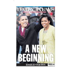 """""""A NEW BEGINNING"""" 1/21/2009 Page Print"""